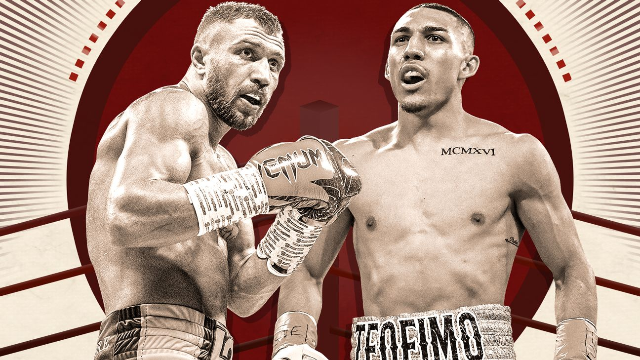 Ringside Seat – Lomachenko and Lopez ready for monumental lightweight unification fight