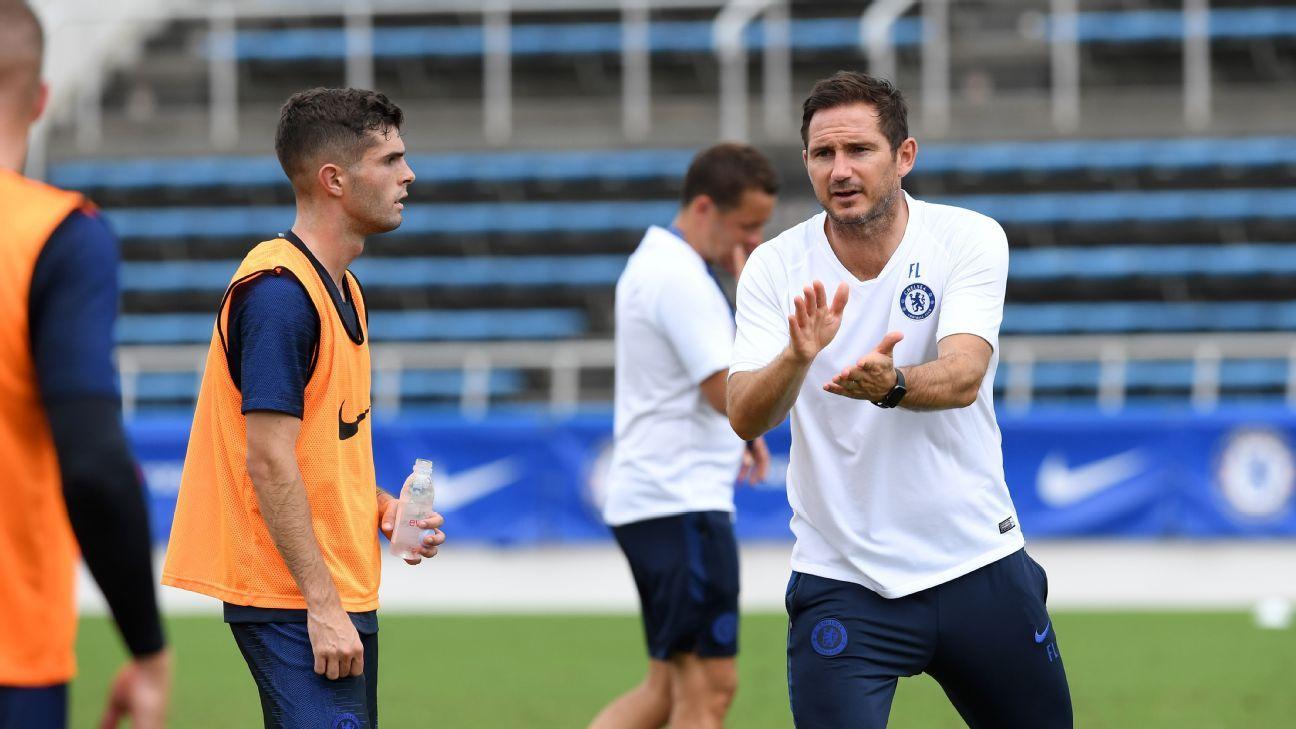 Marsch: Lampard didn't rate Pulisic as he's U.S.
