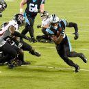 Hit on Carolina Panthers' Teddy Bridgewater draws ejection for Atlanta Falcons' Charles Harris