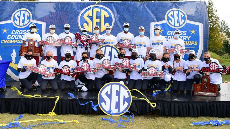 Arkansas sweeps SEC Cross Country Championships