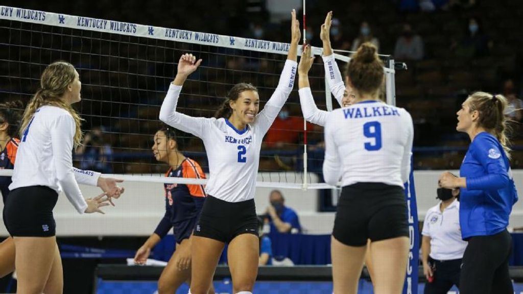 No. 2 UK spikes Mississippi State in straight sets