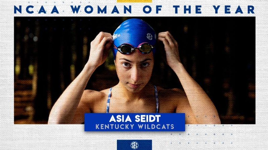 Kentucky's Asia Seidt Named NCAA Woman of the Year