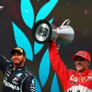 , Where is Lewis Hamilton's F1 championship trophy?