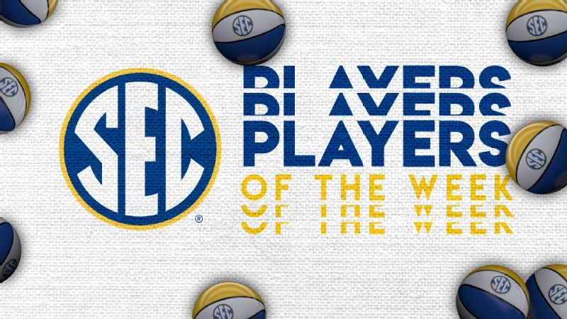 Week 8: Women's basketball Players of the Week