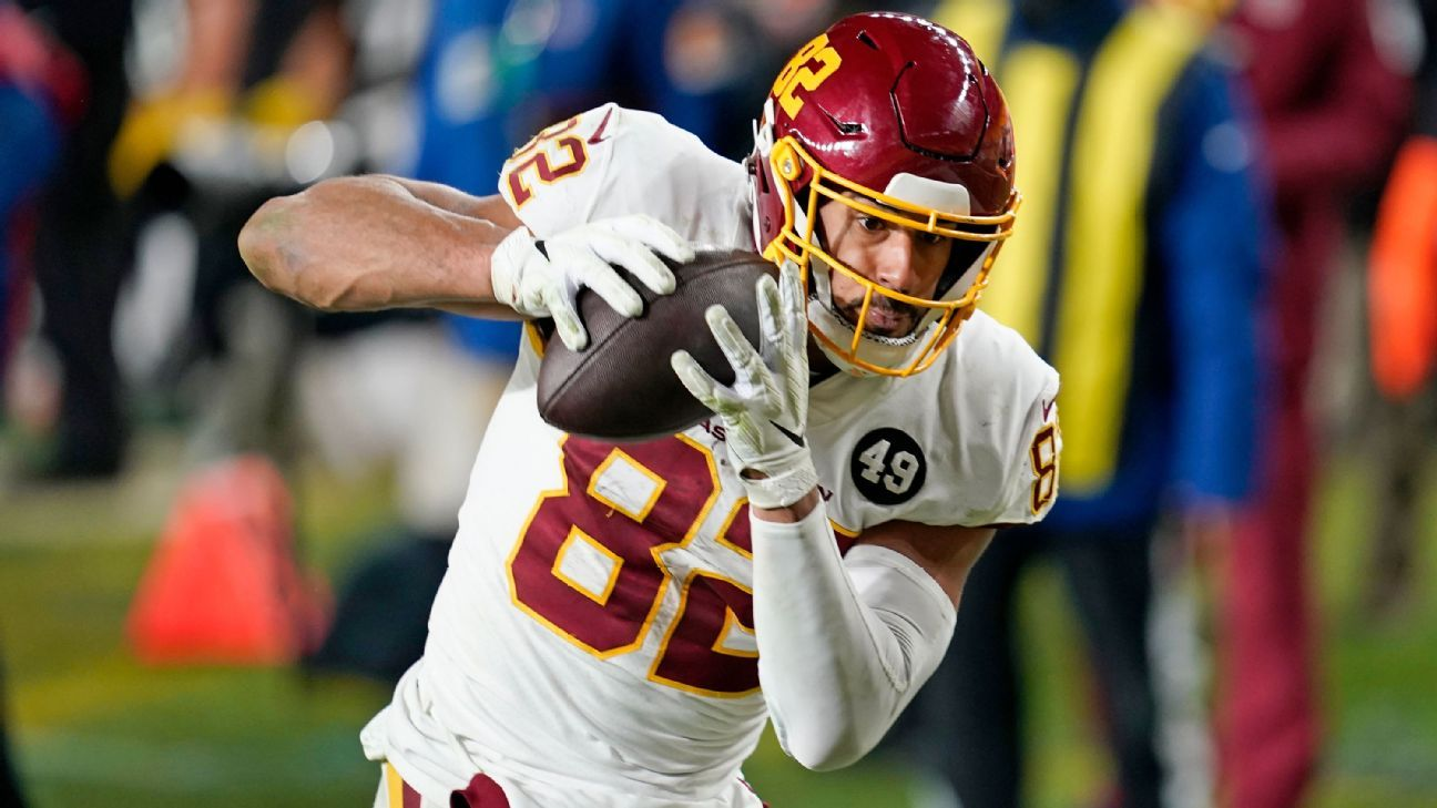 WFT loses TE Thomas, guard Scherff to injuries