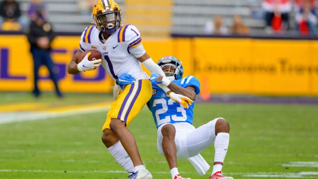 Boutte's 308-yard record day lifts LSU in thriller