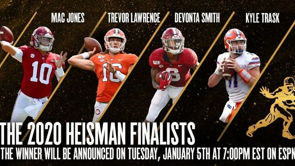 Jones, Smith and Trask named 2020 Heisman finalists