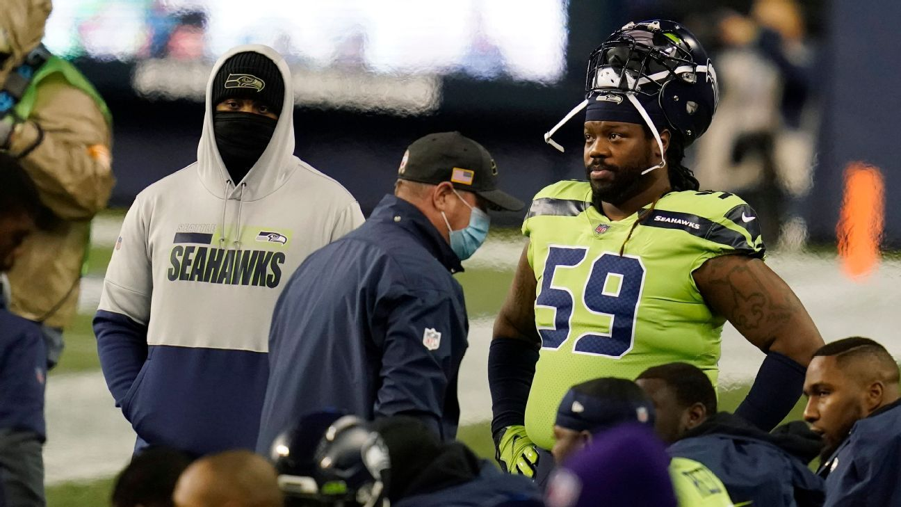 Damon Harrison says it's time to leave the Seattle Seahawks'