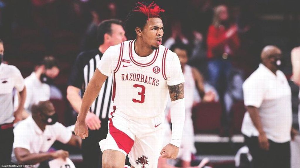 Razorbacks move to 9-0 after 97-85 SEC win over Auburn