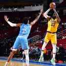 Who's the best 3-point shooter on the Lakers? LeBron James, Anthony Davis weigh in