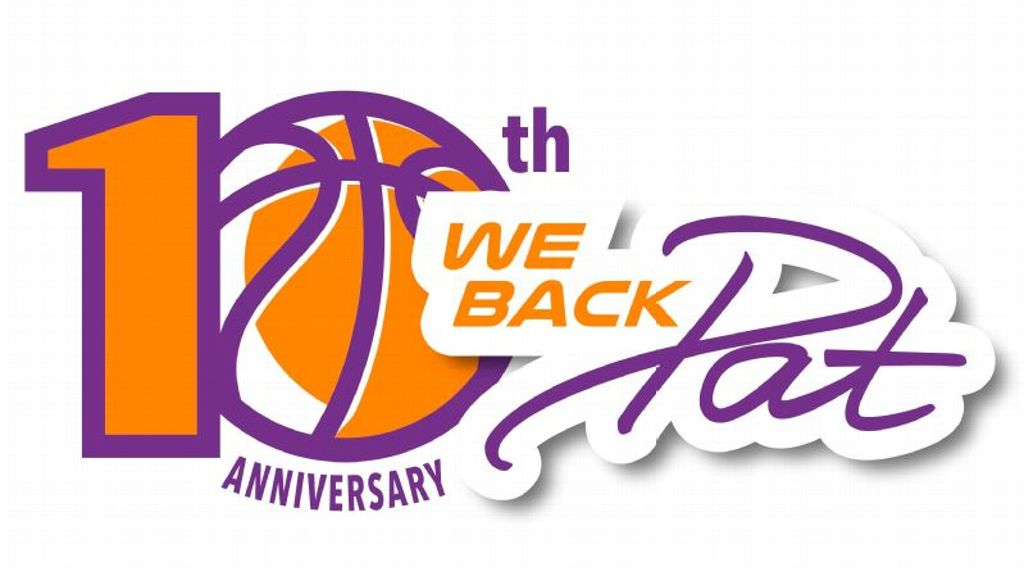 The 10th Anniversary for our annual We Back Pat Week