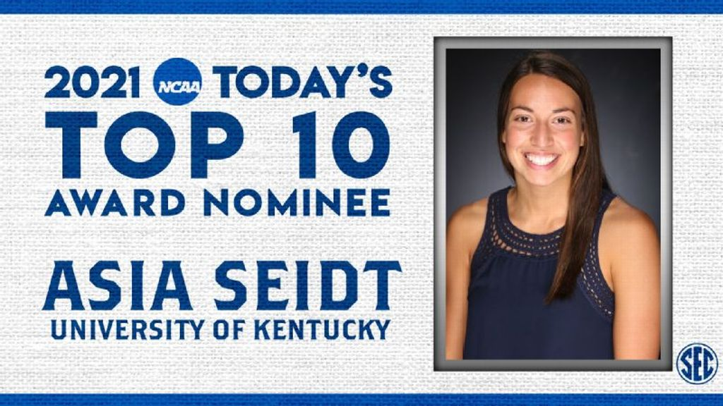 Not Done Yet: Seidt Named a 2021 NCAA Top 10 Honoree