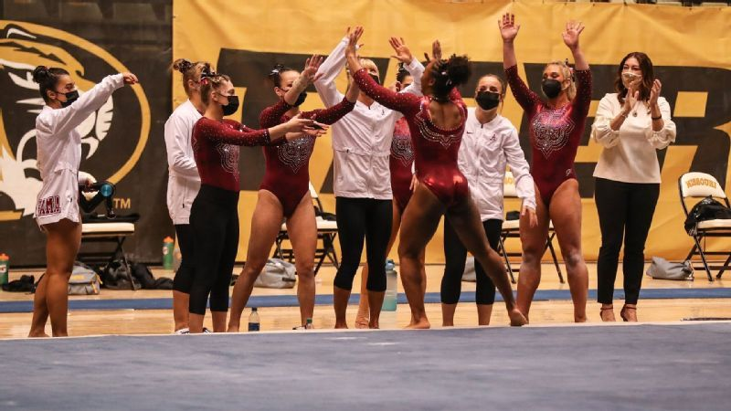 No. 4 Alabama Tops No. 14 Missouri, 195.775-195.750