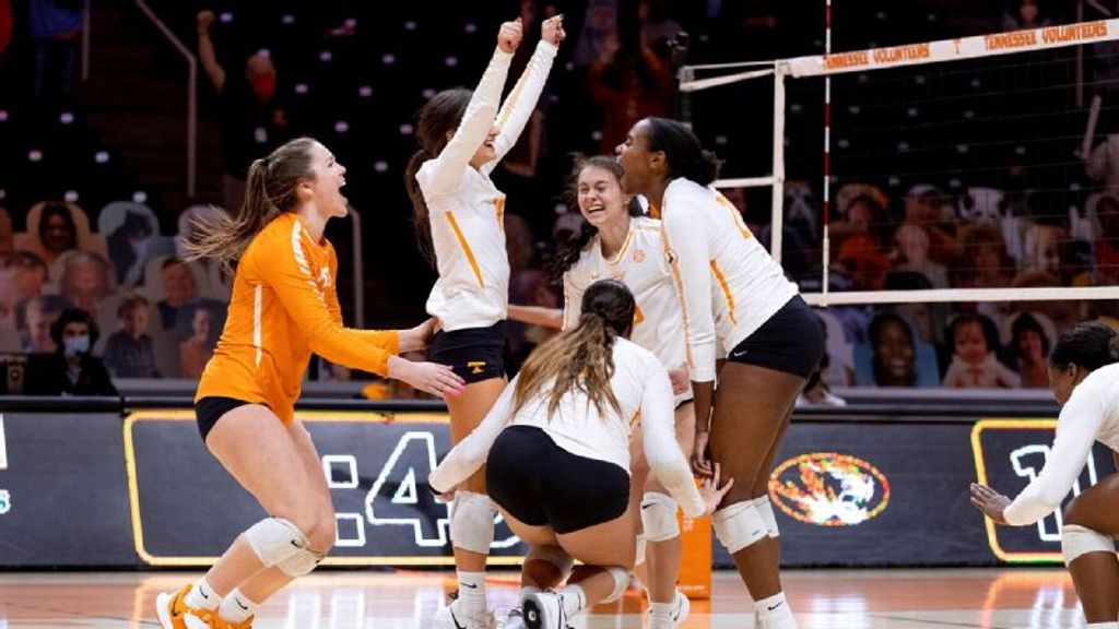 Lady Vols knock off No. 16 Mizzou in five-set thriller