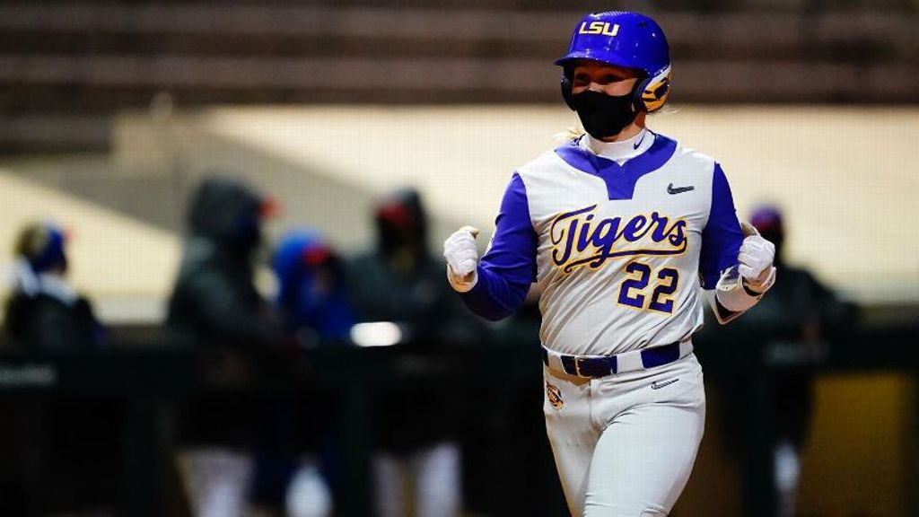 No. 5 LSU bounces back from loss to beat Kansas