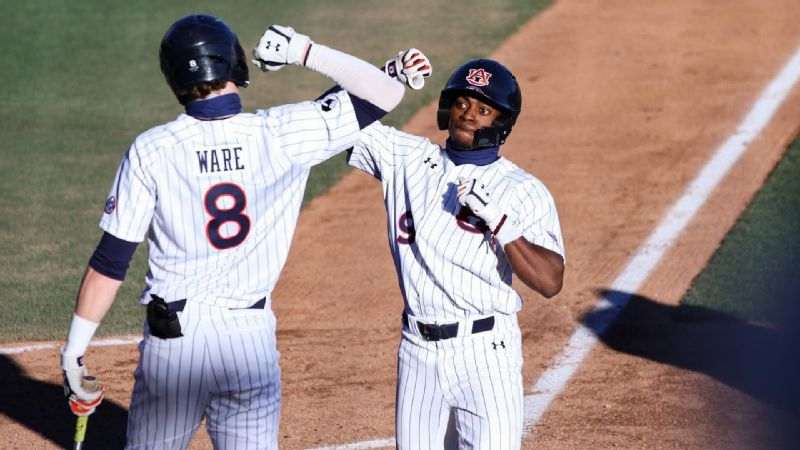 No. 17 Auburn gets second win over Presbyterian, 6-1
