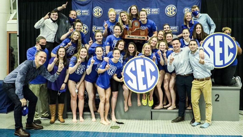Kentucky Wins 2021 SEC Women's Swimming Championship