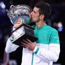 Novak Djokovic ties Roger Federer's tennis record for most weeks as ATP world No. 1