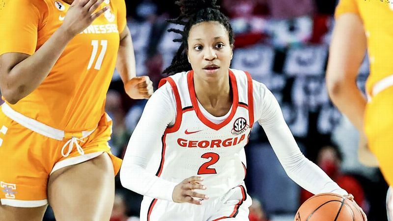 No. 22 UGA holds off No. 21 Lady Vols for 57-55 victory