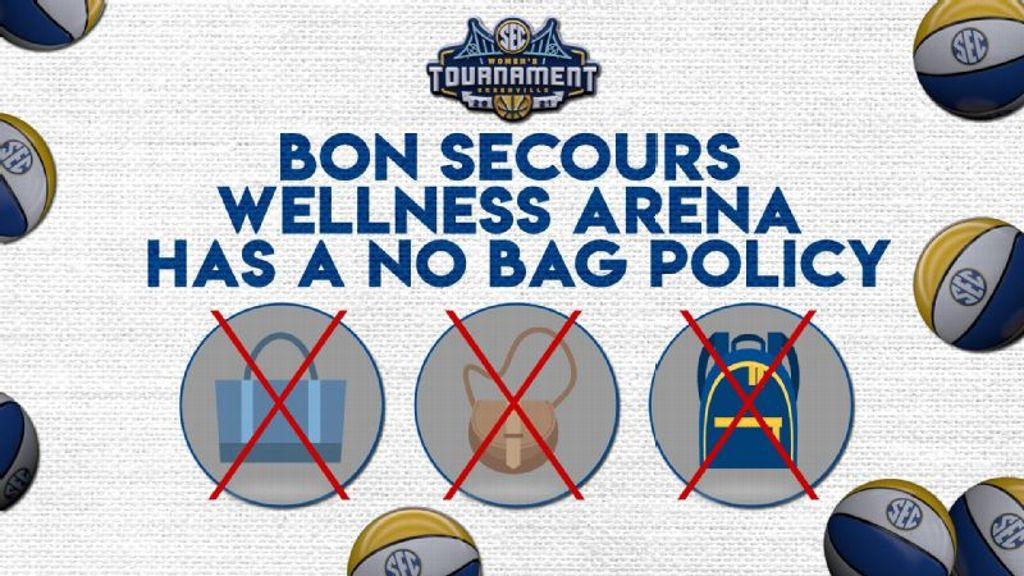 SEC Issues Fan Advisory for Women's Basketball Tournament