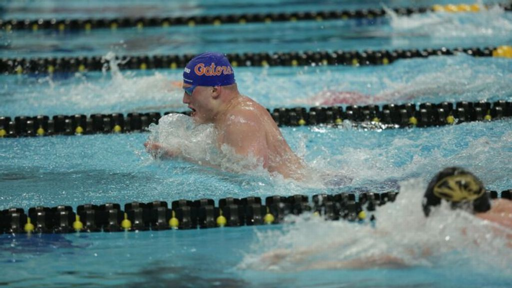 Florida Leads Following Day Three of Men's Swimming