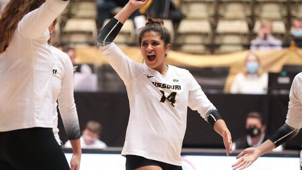 No. 25 Missouri downs Gamecocks in three-set sweep