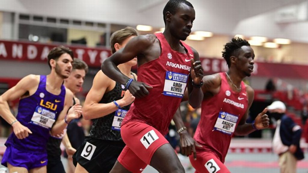 Arkansas Men, Georgia Women Lead After Day Two