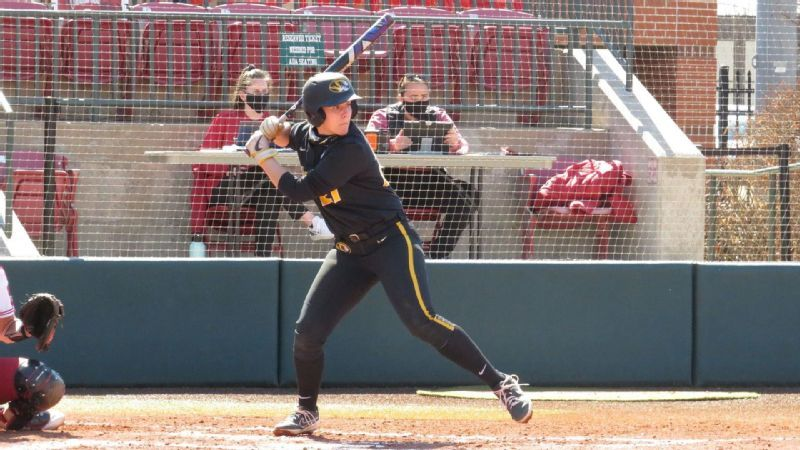 Mizzou run-rules Sam Houston, falls to Oklahoma