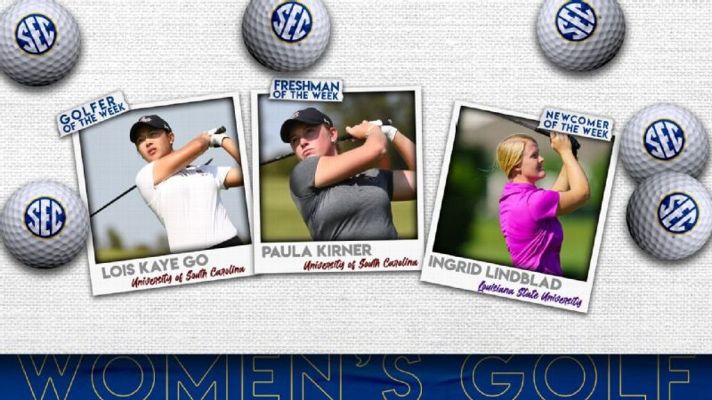 SEC Women's Golfers of the Week