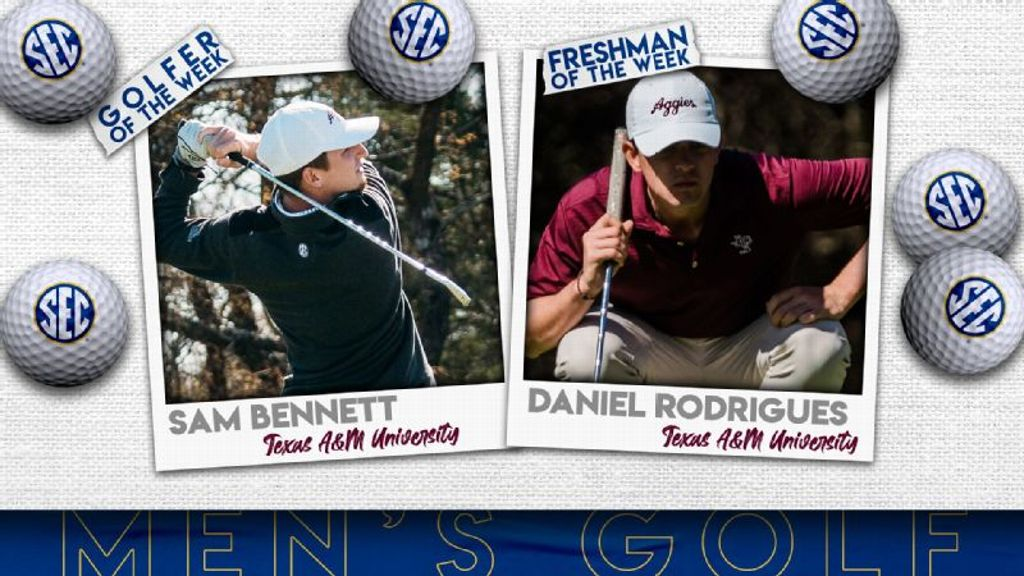 SEC Men's Golfers of the Week