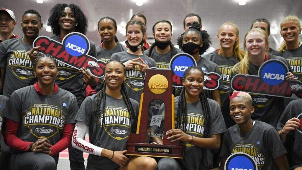 Hogs win track and field National Indoor Championship
