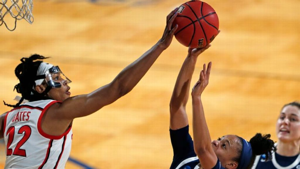 3-seed Georgia moves on after win over 14-seed Drexel
