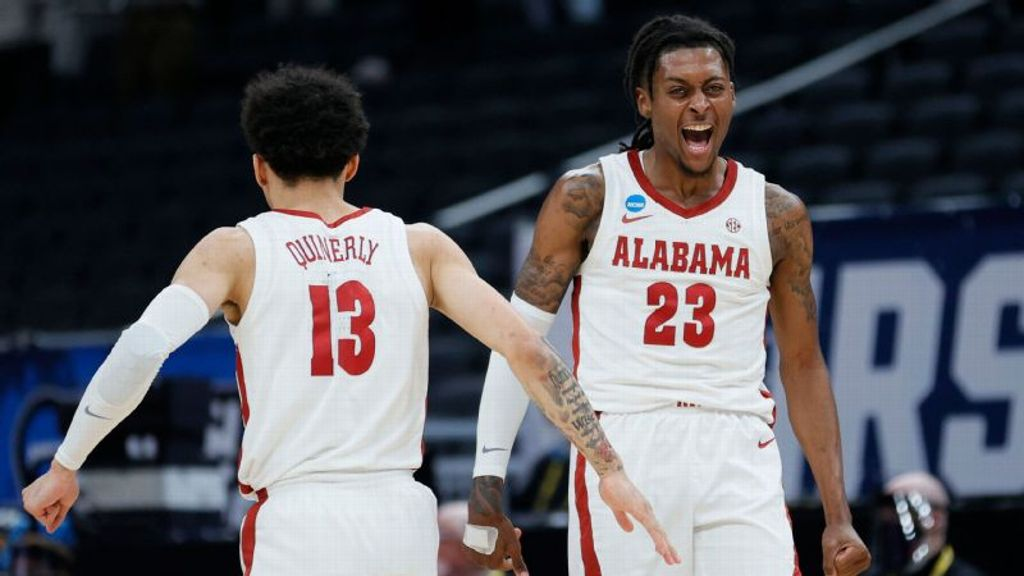 Bama lights Maryland up from deep for Sweet 16 bid