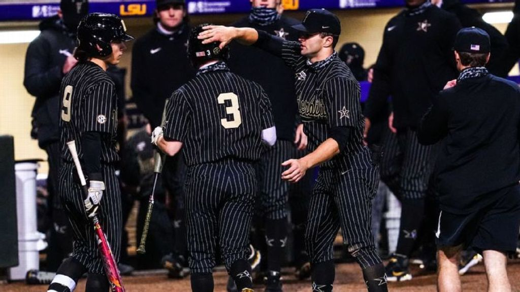 Vandy tallies season-high 17 hits in win vs. LSU