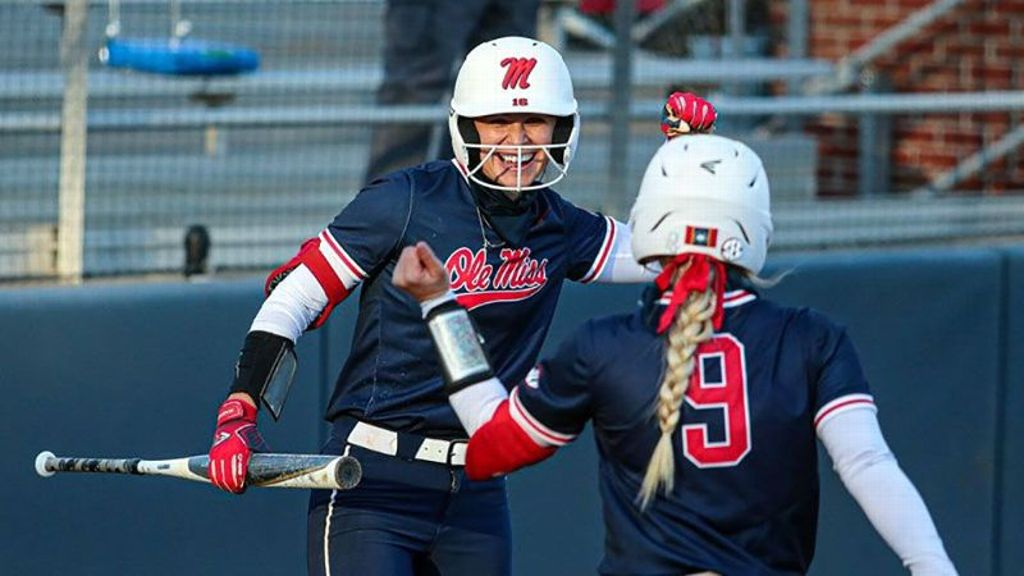 Ole Miss clubs four homers in extra inning win vs. LSU