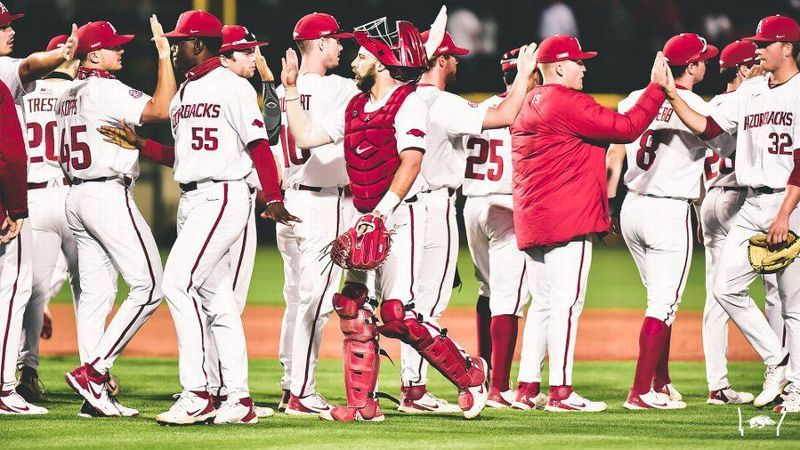 No. 2 Arkansas proves to be too much for Little Rock