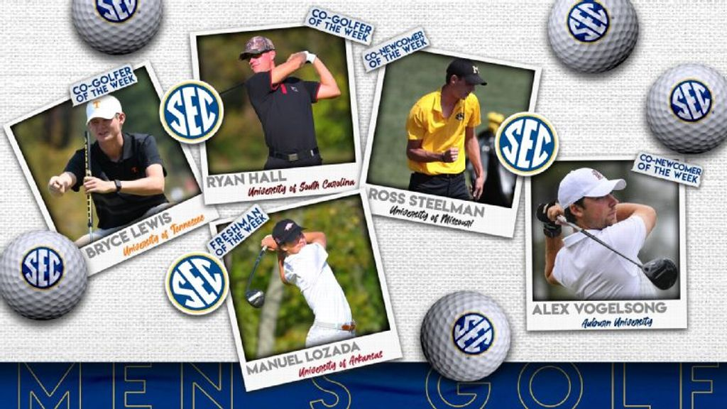 SEC Men's Golfers of the Week