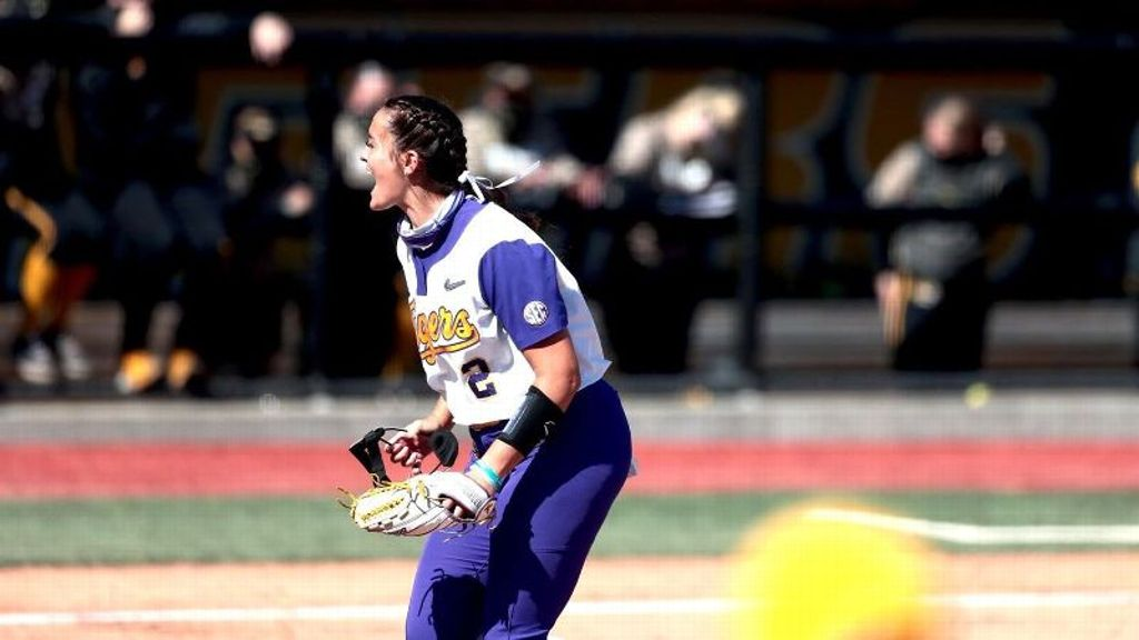 Kilponen shines in doubleheader as LSU clinches series
