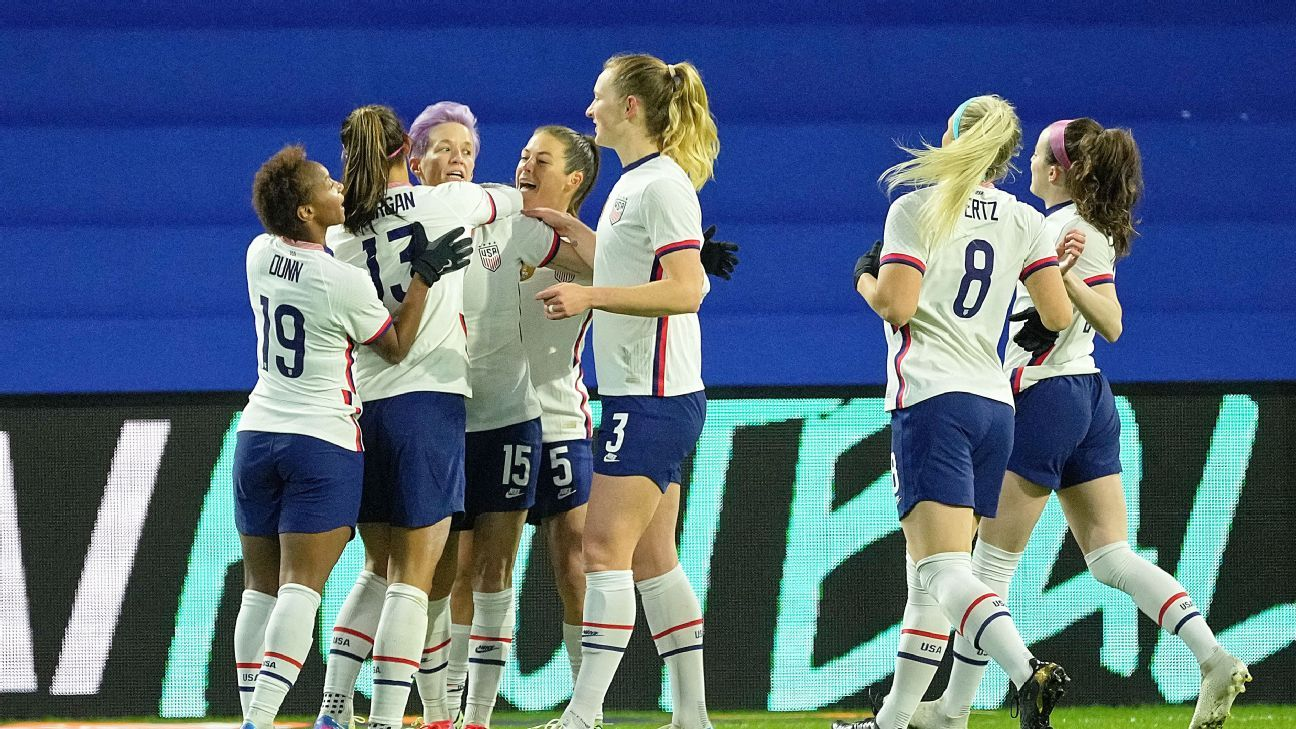 USWNT to face rivals Sweden at Tokyo Olympics