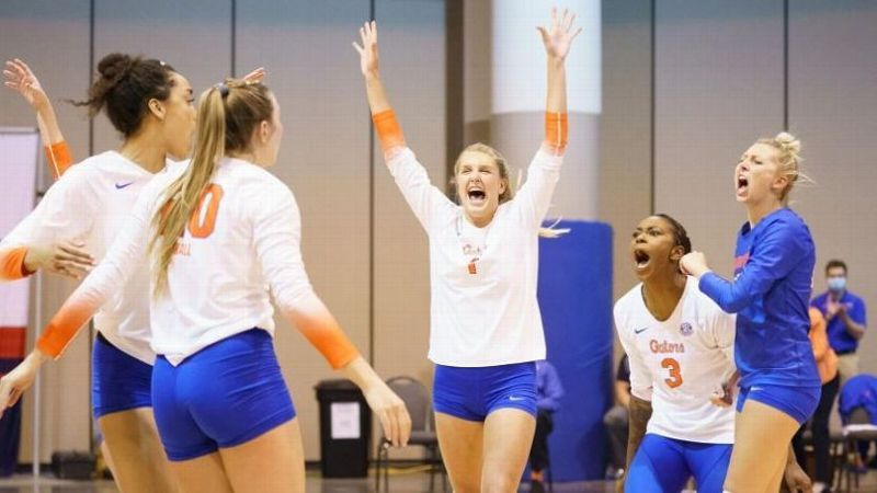 Gators sweep Eagles in Second Round of NCAA Tournament
