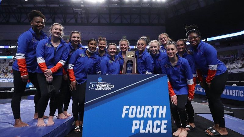 Gators finish fourth at NCAA Championships
