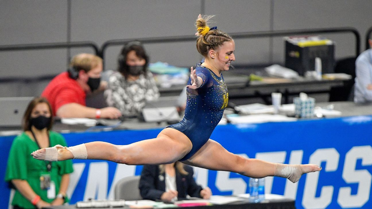 Here's how Abby Heiskell led the Michigan Wolverines to their first NCAA ladies's gymnastics nationwide identify