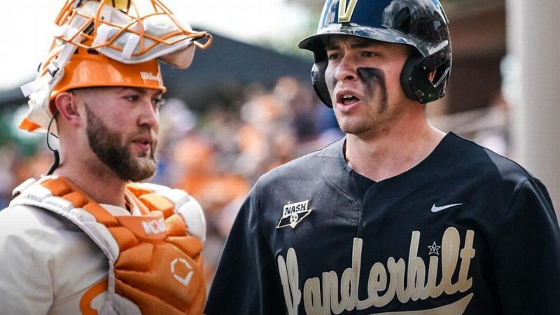 Hot Vandy bats too much for Vols to handle