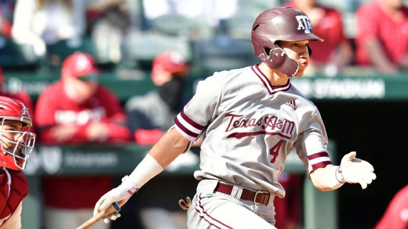 Aggies survive slugfest to salvage series