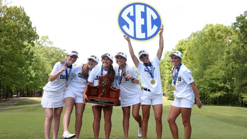 Auburn wins 2021 SEC Women's Golf Championship