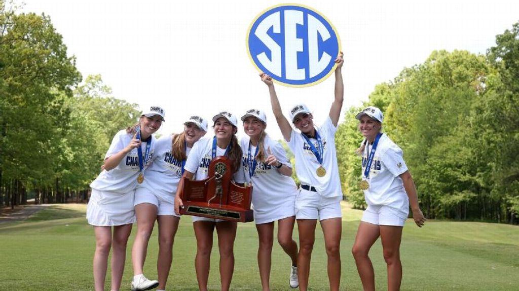 Auburn wins 2021 SEC Women's Golf Championship