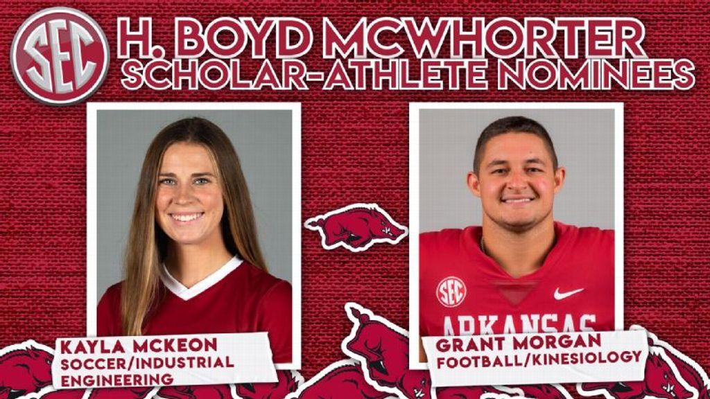 McKeon, Morgan nominated for 2021 McWhorter Award