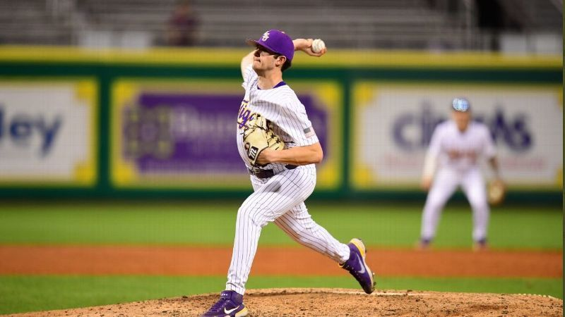 LSU in the win column after terrific night on the mound