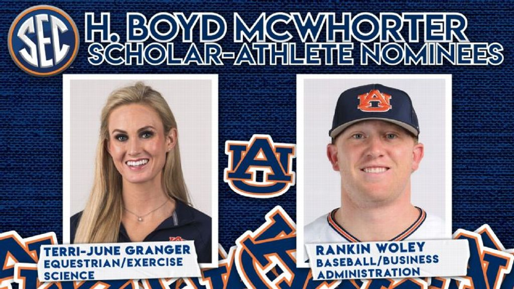 Granger, Woley nominated for 2021 McWhorter Award