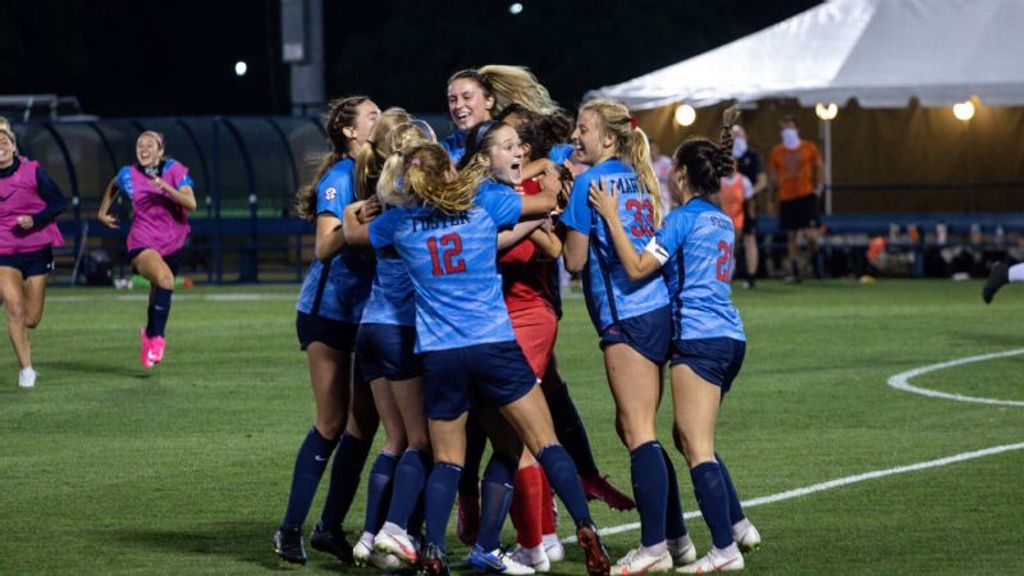 Rebels win shootout victory to advance in NCAA tourney
